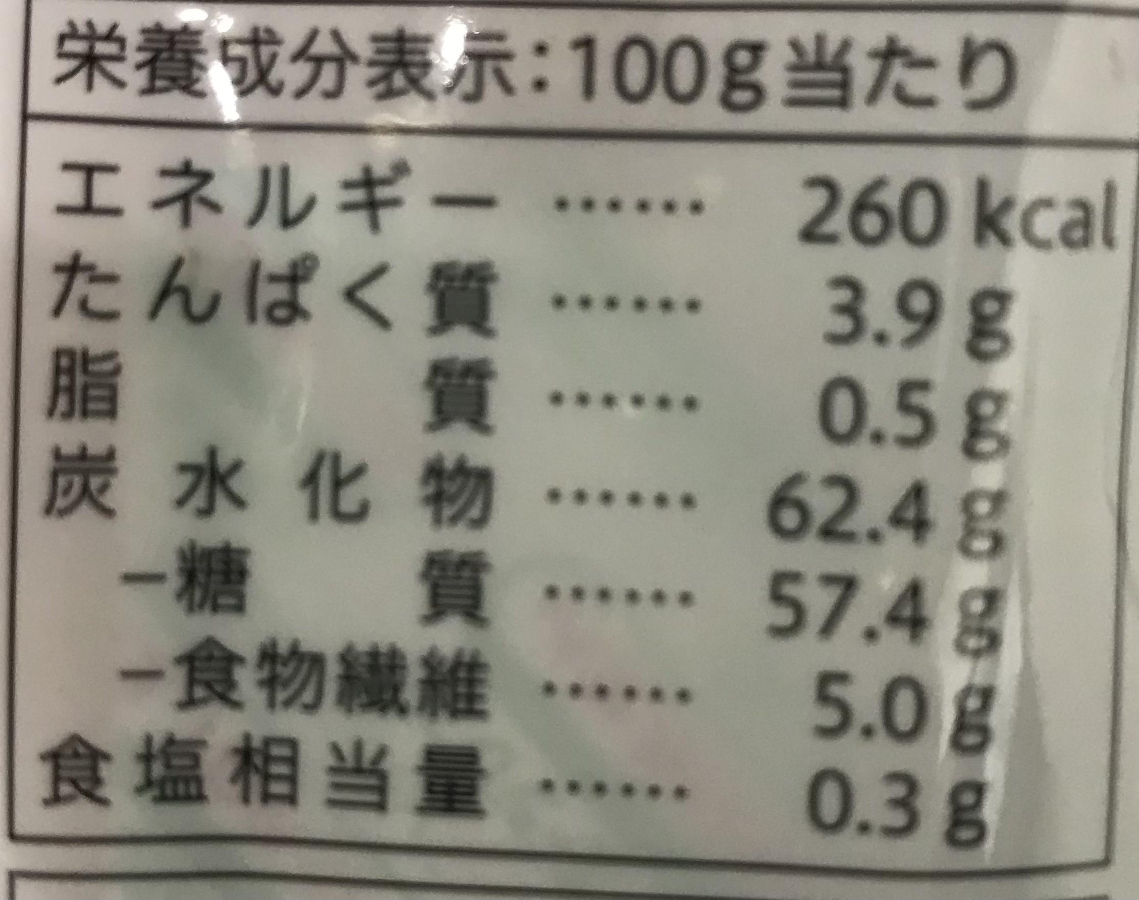 炭水化物=糖質???